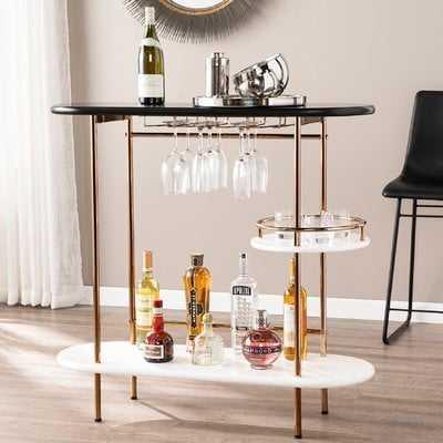 Indiana Bar with Wine Storage - AllModern