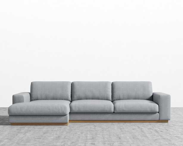 Noah Sectional - Oyster Right-hand-facing - Rove Concepts