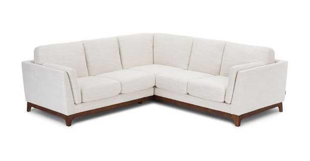 Ceni Fresh White Corner Sectional - Article