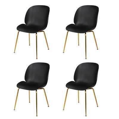 Margie Back Gilded Dining Chair - Wayfair