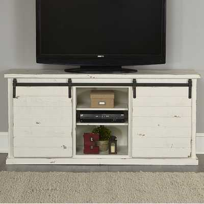 """Laursen Solid Wood TV Stand for TVs up to 75"""" - Wayfair"""