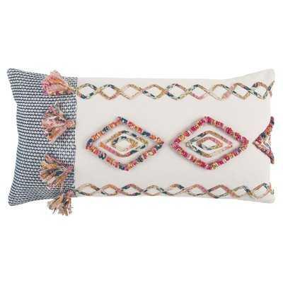 Diyadin Decorative Cotton Lumbar Pillow - AllModern