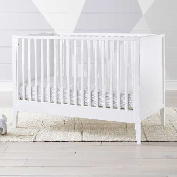 Ever Simple White Crib - Crate and Barrel