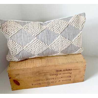 Ighli Handwoven Cotton Lumbar Pillow - Wayfair