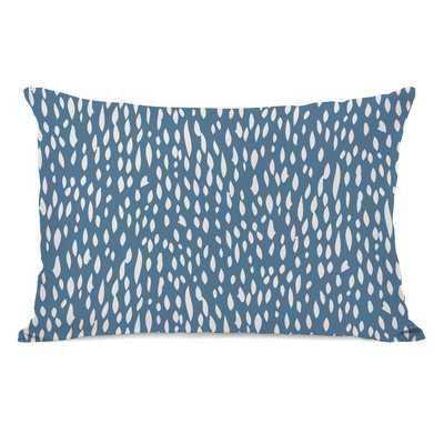 Dotty Pattern Lumbar Pillow - Wayfair