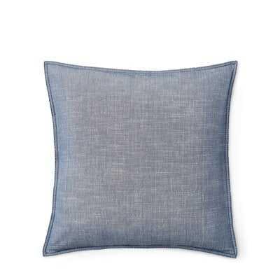 Juliet Chambray Cotton Throw Pillow - Wayfair
