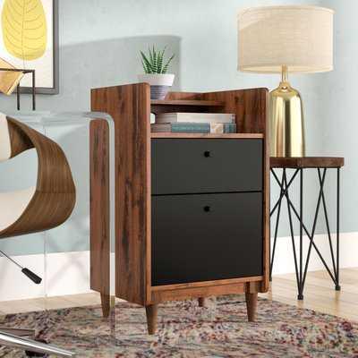 Posner 2 Drawer Vertical Filing Cabinet - Wayfair