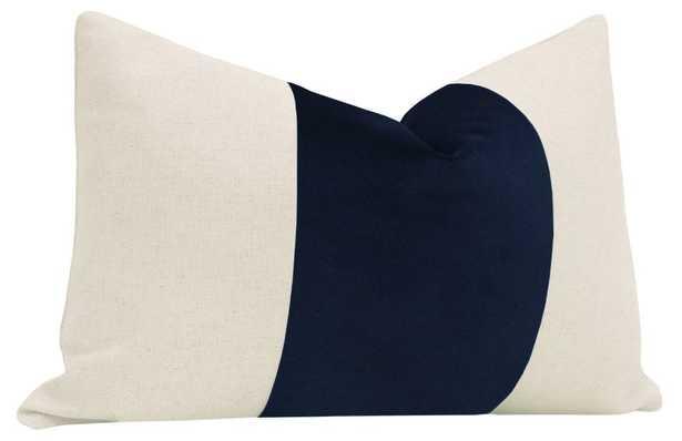 "The Little Lumbar :: PANEL Signature Velvet // Navy Blue - 12"" X 18"" - Little Design Company"