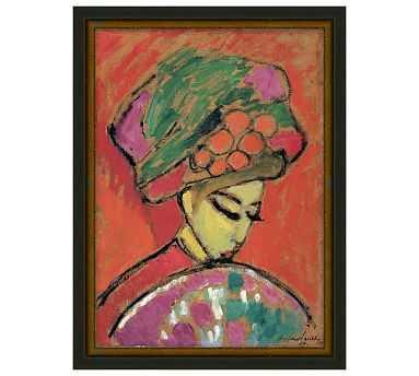 "Colorful Geisha Canvas, 12 x 16"" - Pottery Barn"