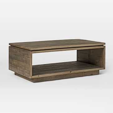 Emmerson(R) Modern Coffee Table, Reclaimed Pine - West Elm
