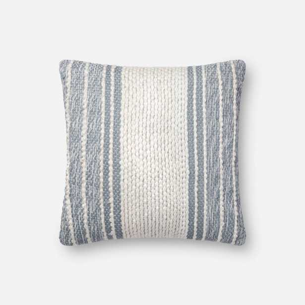 PILLOWS - BLUE / IVORY - Loma Threads