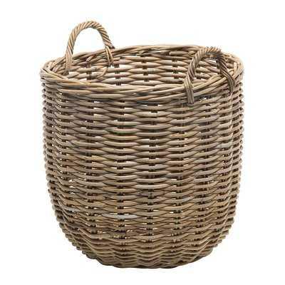 Rattan Storage Basket - Wayfair