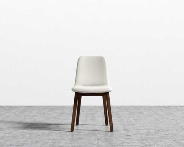 Aubrey Side Chair - Monaco Cream Walnut - Rove Concepts