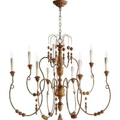 Paladino 9-Light Candle-Style Chandelier - Wayfair