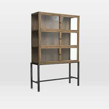 Curio Display Cabinet- Natural - West Elm