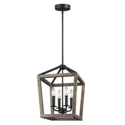 Natarsha 4 - Light Lantern Geometric Pendant - Birch Lane