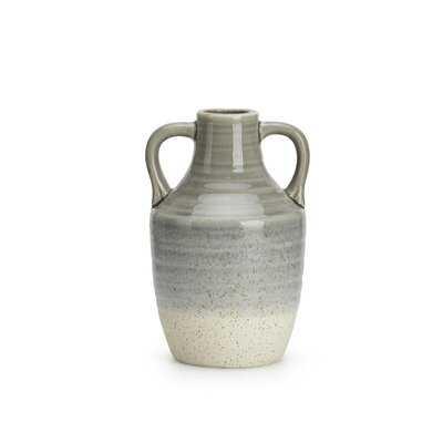 Nicole Large Double Handle Table Vase - Wayfair
