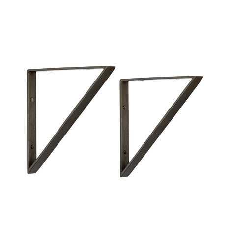 "8"" Triangle Shelf Brackets - Rejuvenation"