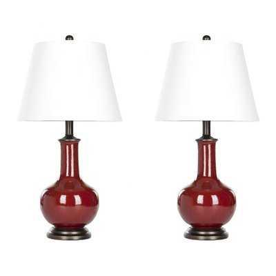 "Alexandra 22"" Table Lamp Set - Birch Lane"