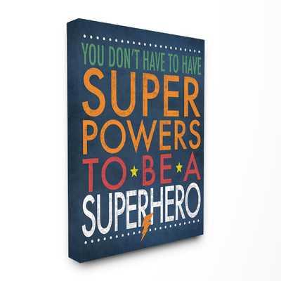 Kleckner Superhero Super Powers Canvas Wall Art - Wayfair