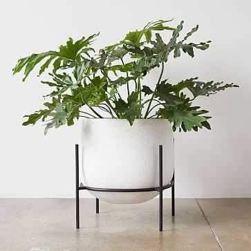 Stratus Standing Planter, Short - West Elm