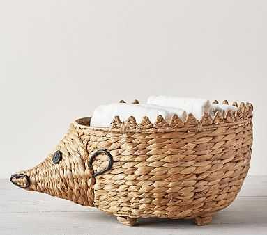 Shaped Critter Storage, Hedgehog Diaper Caddy - Pottery Barn Kids