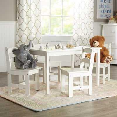 Rickey Kids 5 Piece Table & Chair Set - Birch Lane