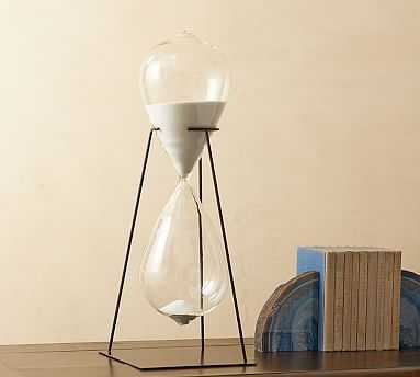 Hourglass Display Object - Pottery Barn