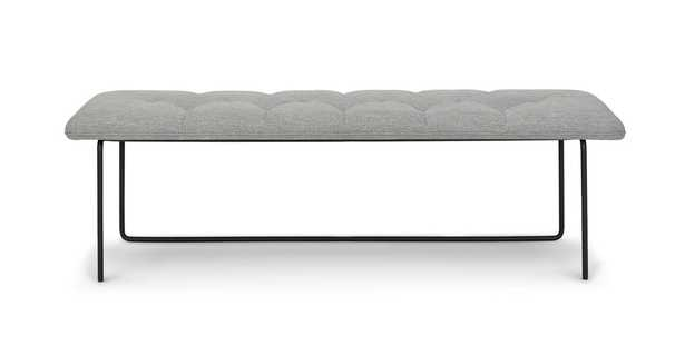 Level Winter Gray Bench - small - Article