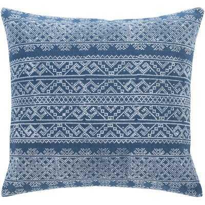 Ranier Bohemian Global Dark Blue Pillow  (polyester fill) - Wayfair