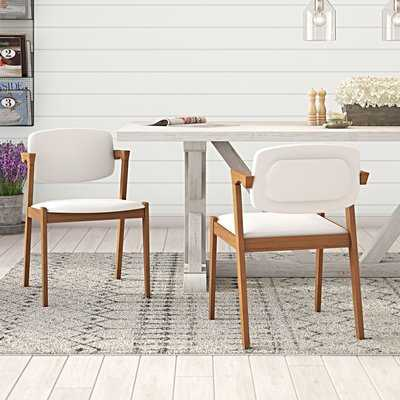 Noonan Upholstered Dining Chair (Set of 2) - AllModern