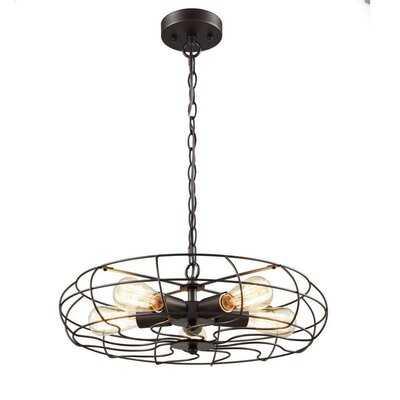 Hodge Fan 5 Light Novelty Chandelier - Wayfair