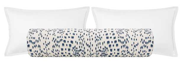 """The Bolster :: Les Touches // Blue - KING // 9"""" X 48"""" - Little Design Company"""
