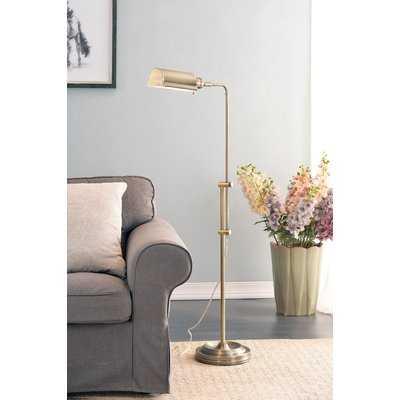 "Luxembourg 50"" Task Floor Lamp - Birch Lane"