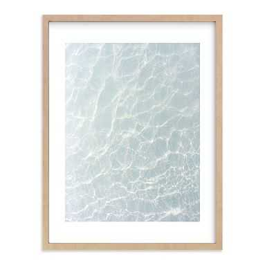 Wave Patterns Wall Art by Minted(R), 18 x 24, Natural - Pottery Barn Teen