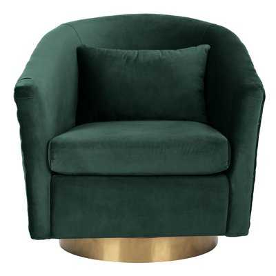 Skye Swivel Barrel Chair - Wayfair