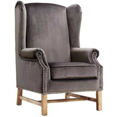 Roffe Wingback Chair - Wayfair