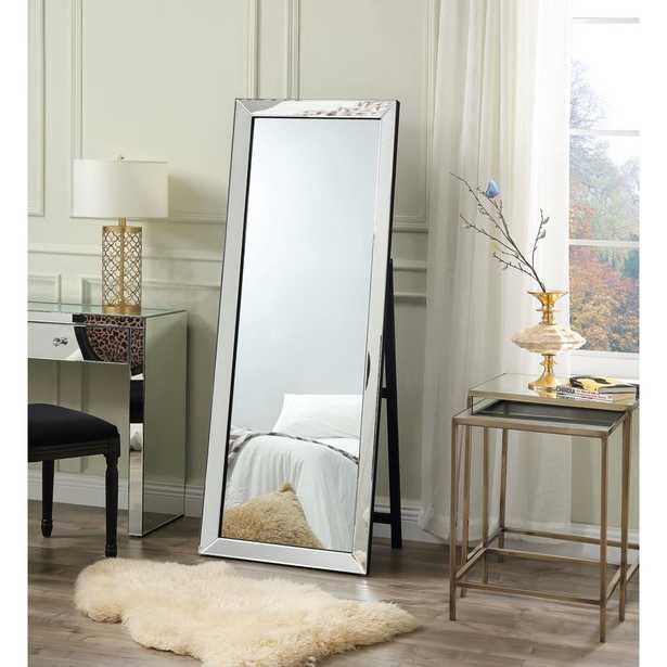 Coral Full Length Cheval Floor Standing Mirror, - Home Depot