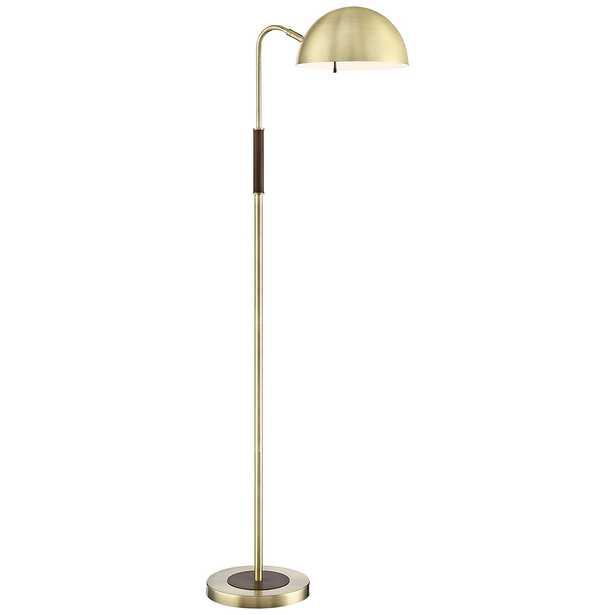 Lite Source Clouseau Antique Brass Buffet Floor Lamp - Lamps Plus