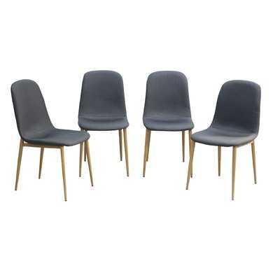 Romeo Upholstered Dining Chair (set of 4) - Wayfair