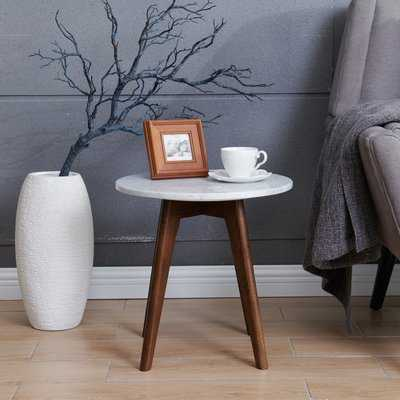 Hauck Marble End Table - Wayfair