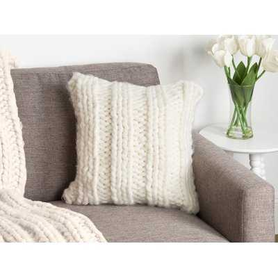 Morwenna Knit Pillow Cover - Wayfair