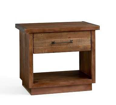 Big Daddy Bedside Table, Rustic Natural - Pottery Barn
