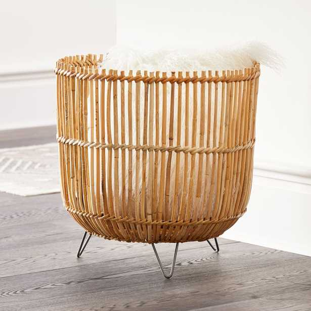 Palos Basket on Stand - Crate and Barrel