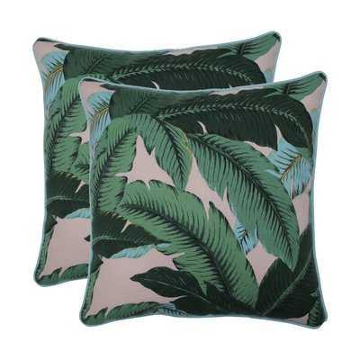 Rockmeade Swaying Palms Indoor/Outdoor Throw Pillow - Wayfair