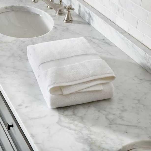 Organic 800-Gram White Turkish Bath Towel - Crate and Barrel