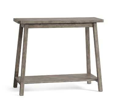 Mateo Console Table, Salvaged Gray - Pottery Barn