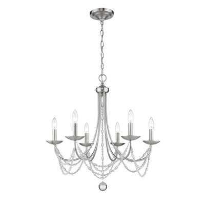 Nantucket 6-Light Candle Style Chandelier - Wayfair