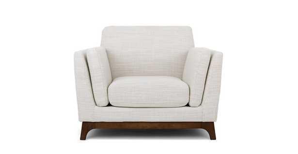 Ceni Fresh White Armchair - Article