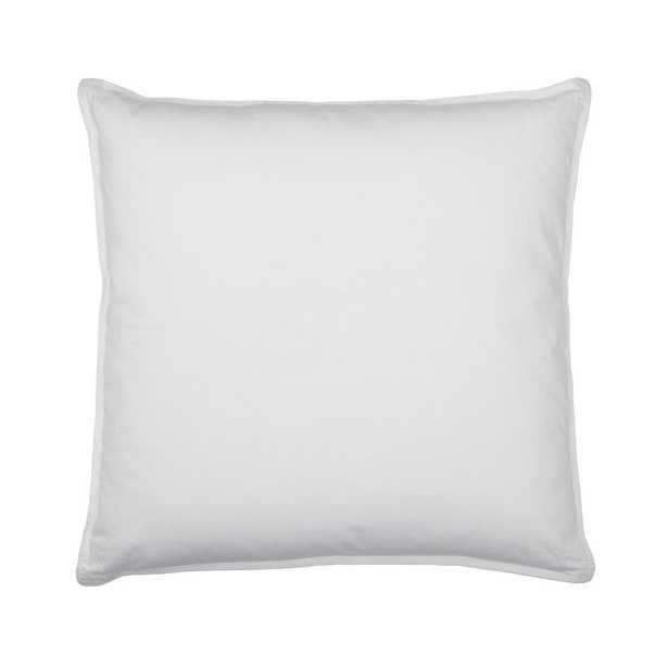 Company Cotton White Down Decorative Pillow Insert, 20 in. x 20 in. - Home Depot